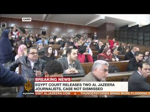 Journalist group welcomes release of Al Jazeera staff