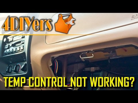 DIY: Ford Ranger Blend Door Actuator Diagnosis and Repair