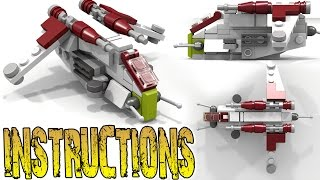 Lego Star Wars LAAT (+INSTRUCTIONS)