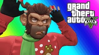 GTA 5 Funny Moments - EPIC Snowball Fights!