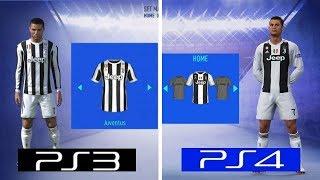 FIFA 19 | PS4 VS PS3 | Graphics Comparison