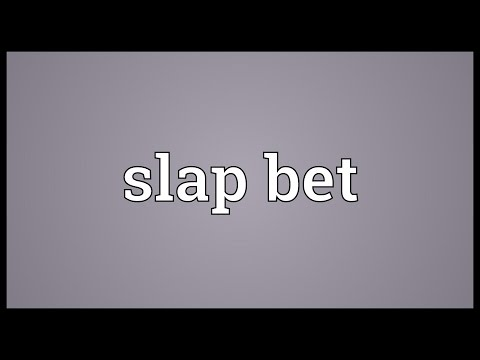 Header of slap bet