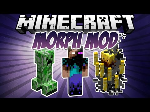 Minecraft: Morphing Mod 1.7.10/1.7.2 (Install Guide Included)