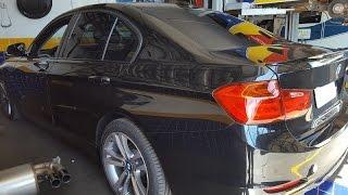BMW 328 RONCO ESPORTIVO NO ESCAPAMENTO
