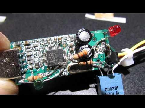 Modified USB audio device for Allstar
