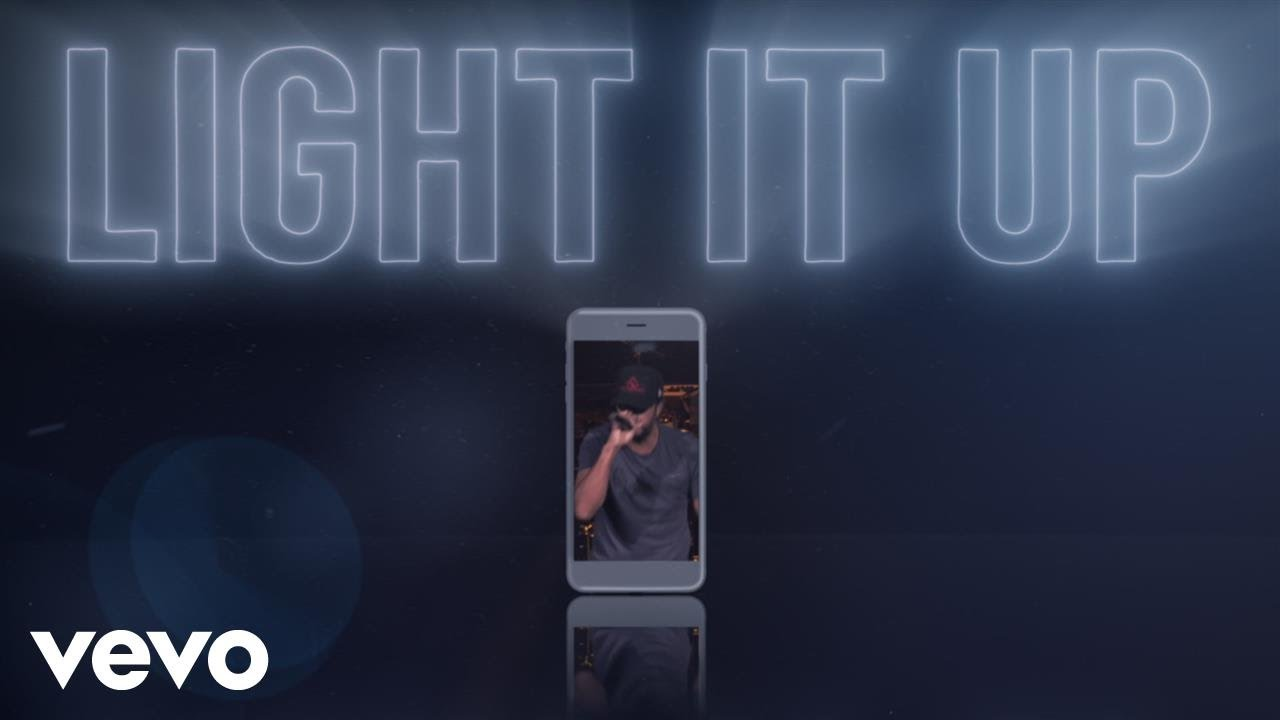 Luke Bryan - Light It Up (Lyric Video)