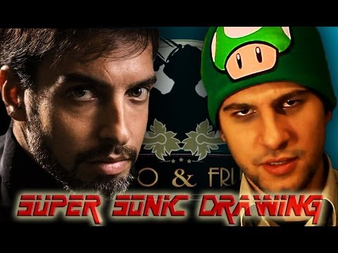 Super Sonic Drawing  02 with and feat Paolo Cellammare