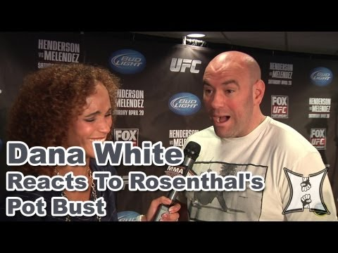 Dana White on UFC on FOX 7, Jones vs Sonnen, Josh Rosenthal's Pot Bust + Boston Bombings