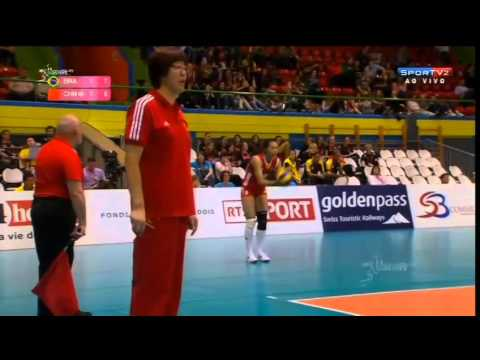Brasil X China - Montreux Volley Master 2014 video