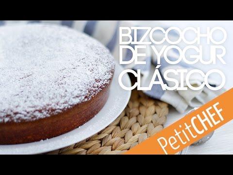 Bizcocho De Yogur Clasico Como El De Tu Abuela Petitchef