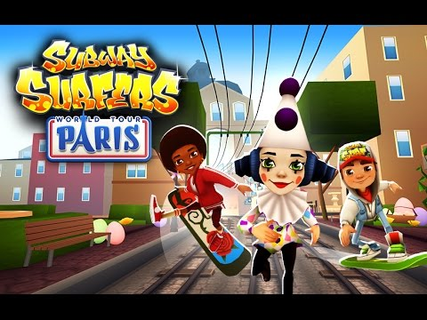 Subway Surfers World Tour 2015 - Paris