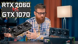 RTX 2060 vs GTX 1070 - полный тест и обзор