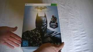 Unboxing Batman - Arkham Origins - Collectors Edition für Xbox 360 (deutsch)