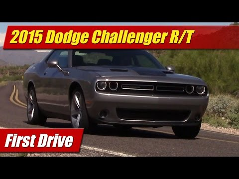 2015 Dodge Challenger R t First Drive video