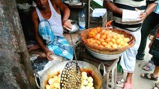 EXPLORING STREET FOOD & FOOTBALL WORLD CUP GOAL-E FEST AT KOLTA BAZAR PURAN DHAKA BANGLADESH