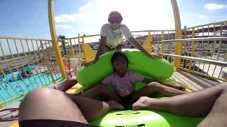 Hurricane Harbor Thrill Ride - Mega Wedgie