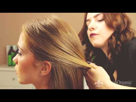 How To Create A Classic Chignon with DermOrganic