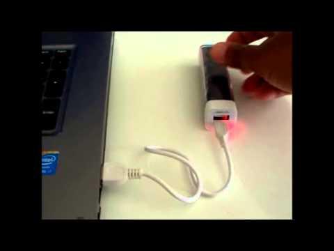 Power Bank 2600mAh Battery Portable Charger