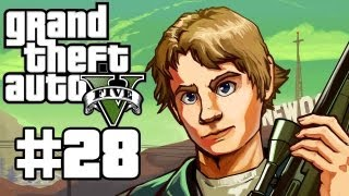 Grand Theft Auto 5 Gameplay / Playthrough w/ SSoHPKC Part 28 - Flyin' High