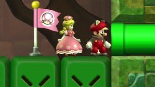 New Super Mario U Deluxe- 2 Player Co-Op - #09