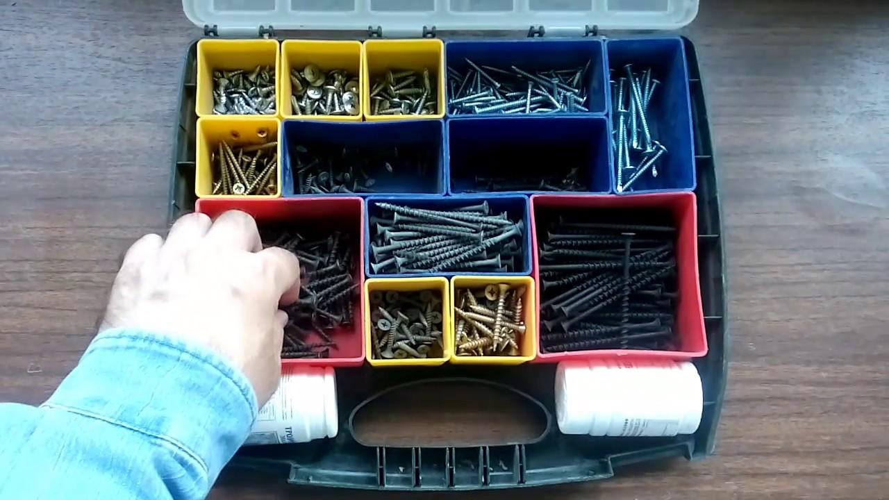 Ящик для саморезов и гвоздей своими руками 7