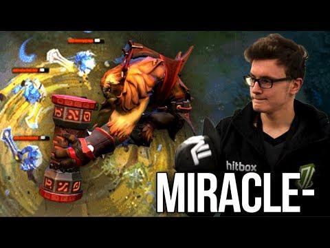 9.5k Miracle- 10 Winning Streak Tryhard Mode - HUGE ECHO SLAM Dota 2