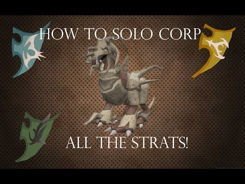 Ultimate Corp Solo Guide! Runescape 3