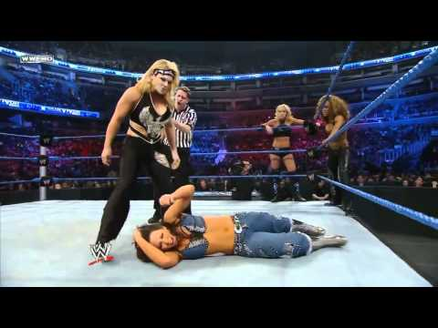 WWE Survivor Series Team Mickie james Vs Team Michelle McCool