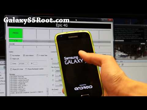 How to Unroot Galaxy S5 with ODIN and Stock Firmware!