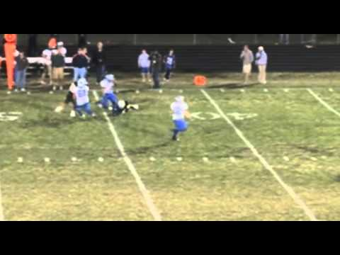 The breakdown version of Kyle Frakes 90 yard punt return with the help of a monster block by David Payne.