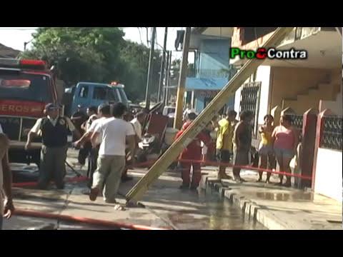Incendio Calle Tavara