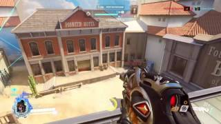 Overwatch Widow Gameplay