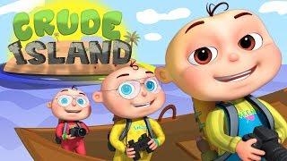 Zool Babies Series - Crude Island | Timboo Tuskar Rescue Episode | cartoon Animation For Kids