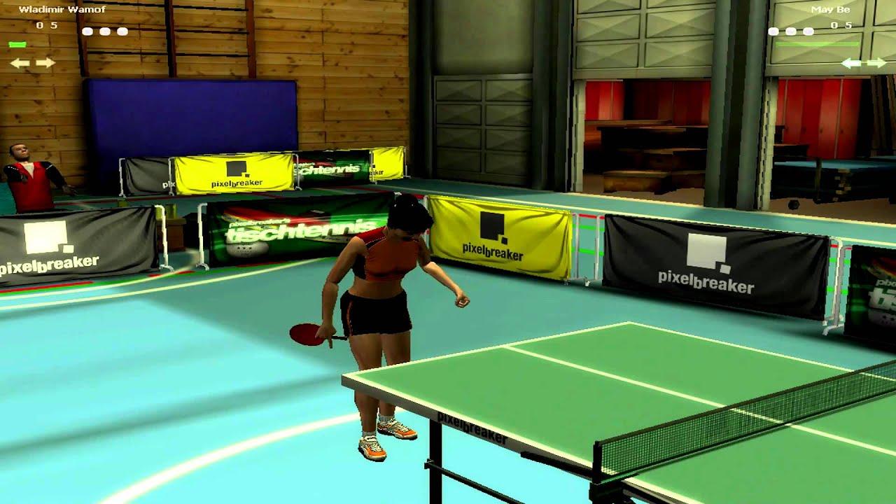 tischtennis 3d