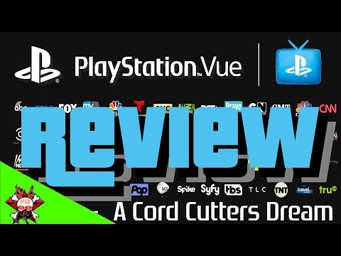 Playstation Vue Review | Now Available Nationwide | Get rid of cable