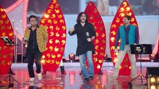 Rupam, Sidhu & Upal perform together    Mirchi Music Awards Bangla 2016