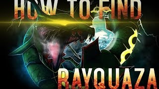 Roblox: Project Pokemon|HOW TO FIND RAYQUAZA!