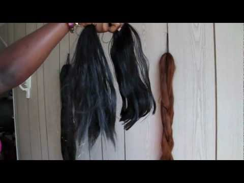 SENEGALESE TWISTS: Prepping Natural hair & Kanekalon Hair(Expression)