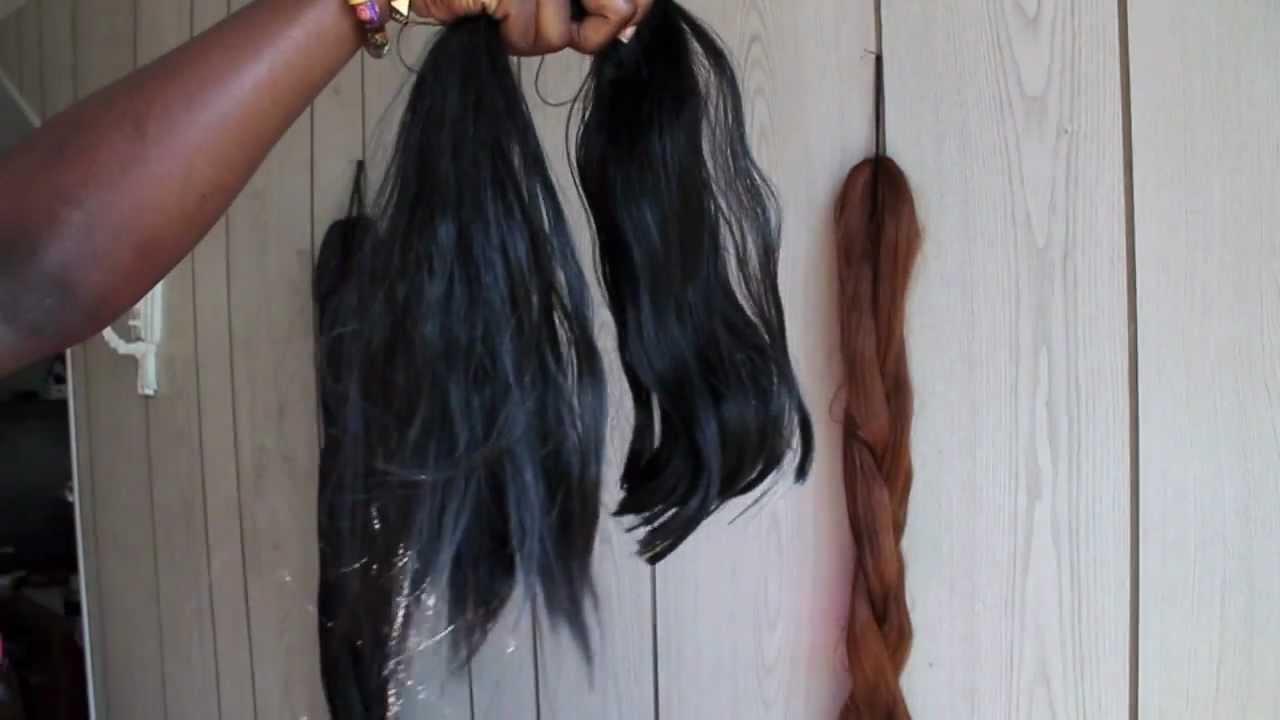 SENEGALESE TWISTS: Prepping Natural hair & Kanekalon Hair