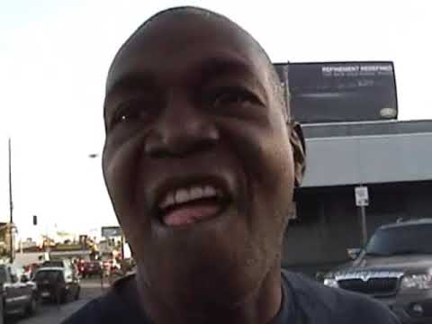 Crips & Bloods gang members respect boxing legend kevin morgan