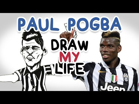Paul Pogba | Draw My Life