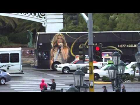 Celine Dion Bus in Las Vegas 2012