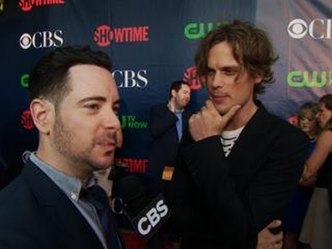 Fall Previews  - CBS Press Tour Red Carpet: Matthew Gray Gubler