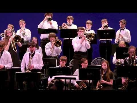 Cane Creek Middle School Jazz Band 3/13/14