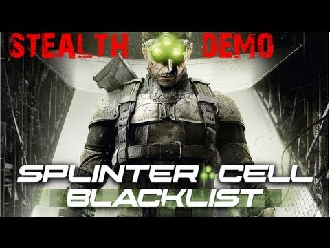 Splinter Cell Blacklist Stealth Demo -L6akqiaSZUI