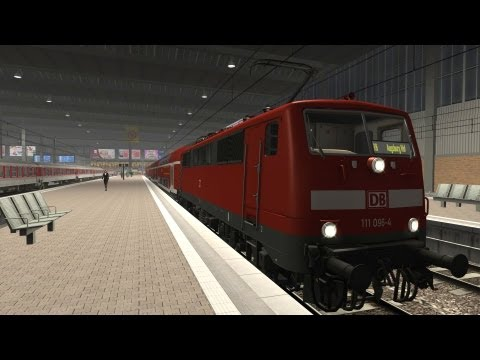 LET´S PLAY Train Simulator 2013 Folge 49 RE nach Donauwörth Rob spielt