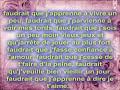 Nicola Ciccone de Tu m'aime [video]