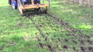 Pasture rejuvenation with foton 254 and tanco aerator