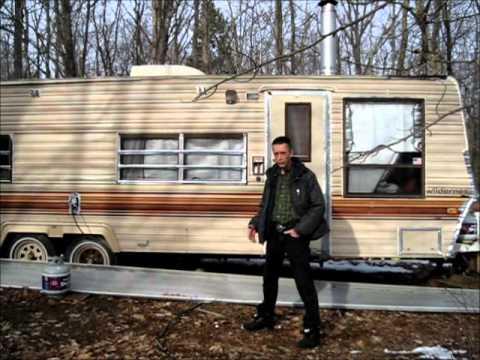 travelling living campervan