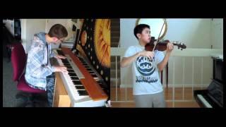 Kingdom Hearts Dearly Beloved Violin Piano Ft Josh Chiu Hd